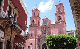 San Francisco Church Guanajuato